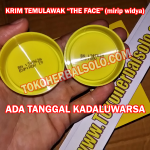 Cream Temulawak The Face (mirip Widya) ber-BPOM (Siang+Malam)