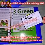 3 Green, herbal pelangsing super cepat