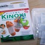 KINOKI WHITE Standar Detox Foot Pads 1 boks isi 10pcs
