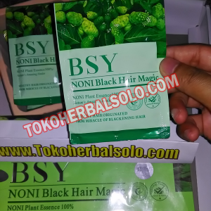 Penghitam Rambut Herbal BSY NONI 1 Boks