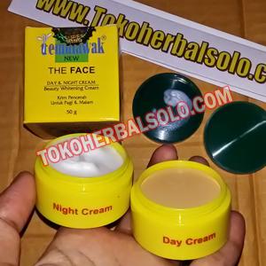 Cream Temulawak ber-BPOM (Siang+Malam)